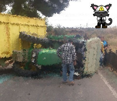 Let's Prevent! - Accidentes: Fallece un conductor tras volcarse su tractor en Cataluña